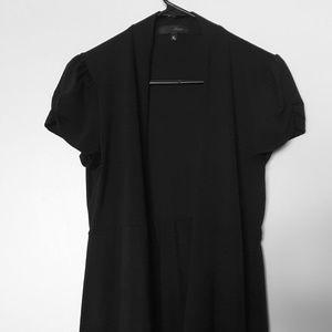 Black Pull Over Dress Cover